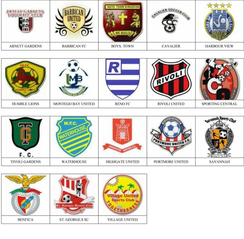 equipos futbol jamaica