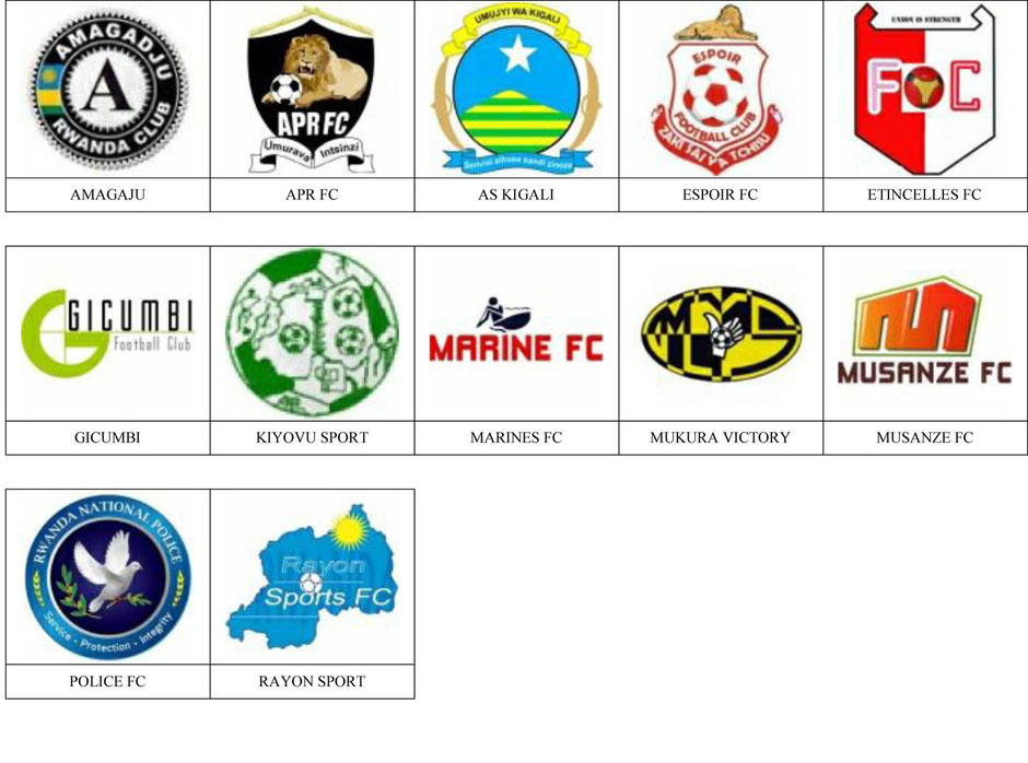 equipos futbol ruanda