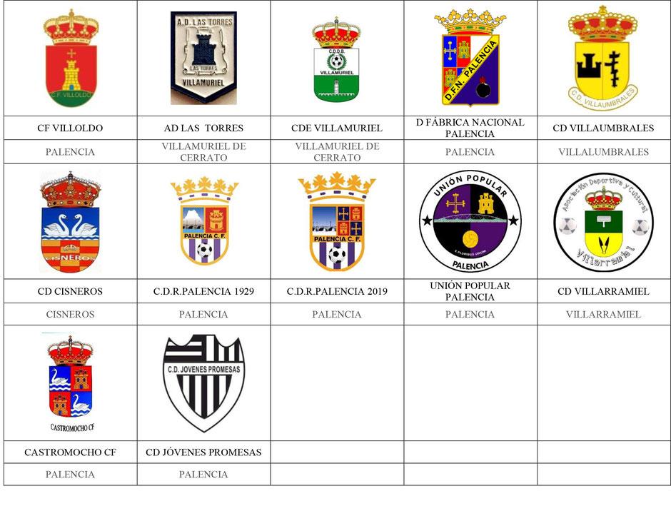 equipos futbol palencia