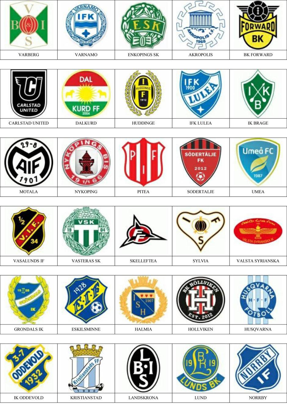 equipos futbol suecia