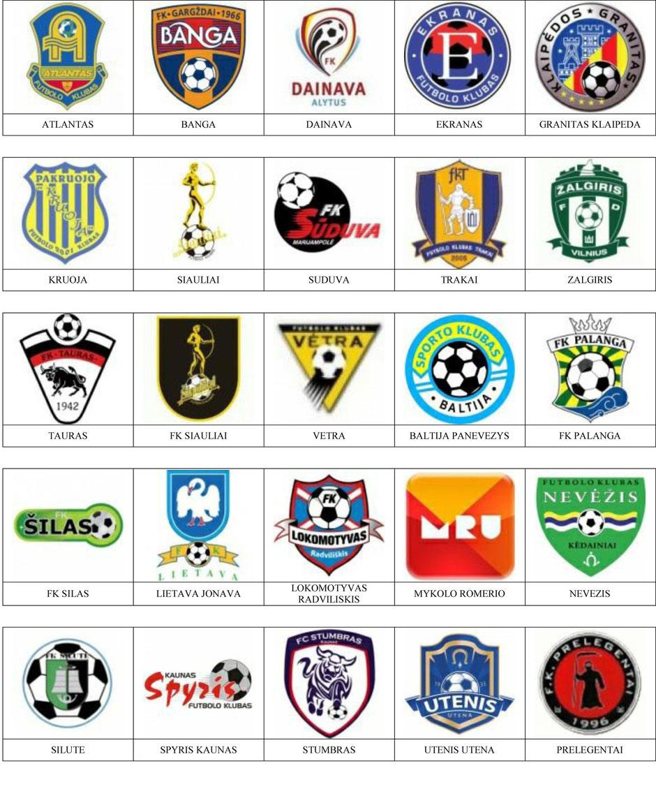 equipos futbol lituania
