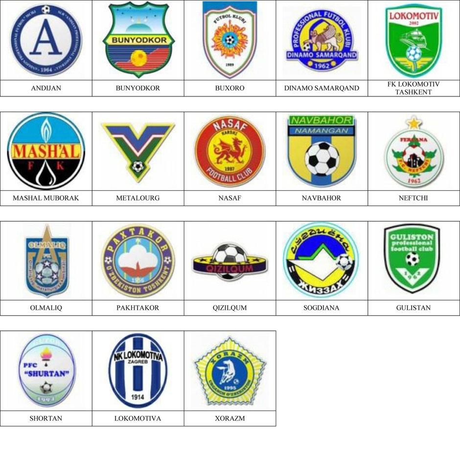 equipos futbol uzbekistan