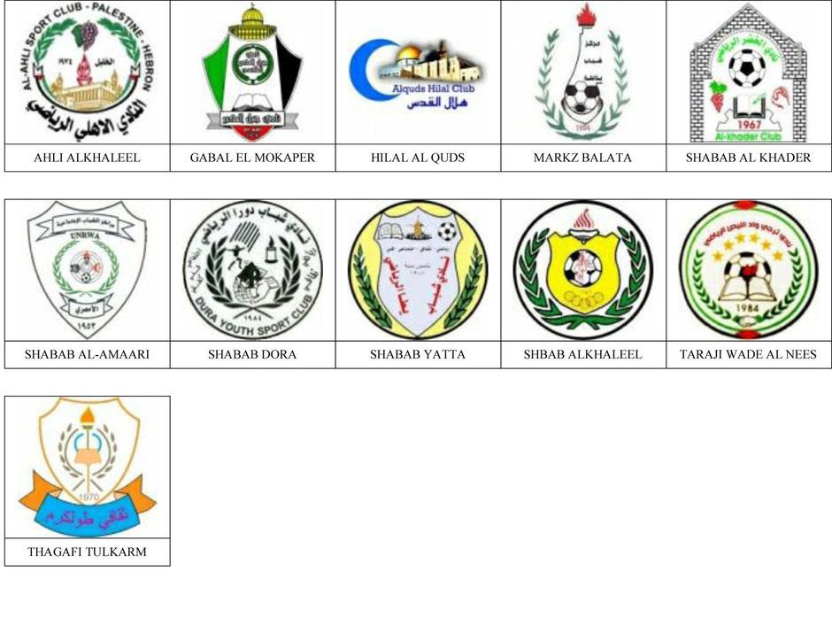 equipos futbol palestina