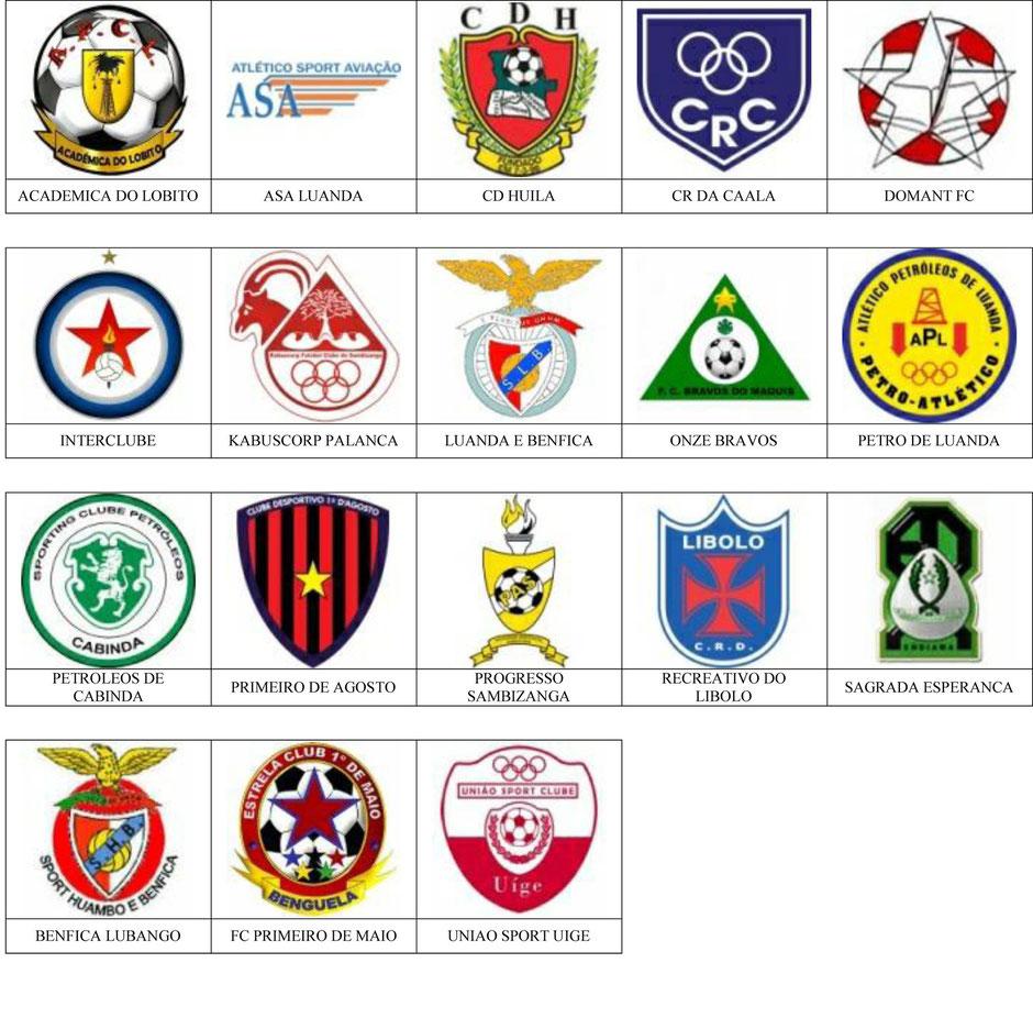 equipos futbol angola