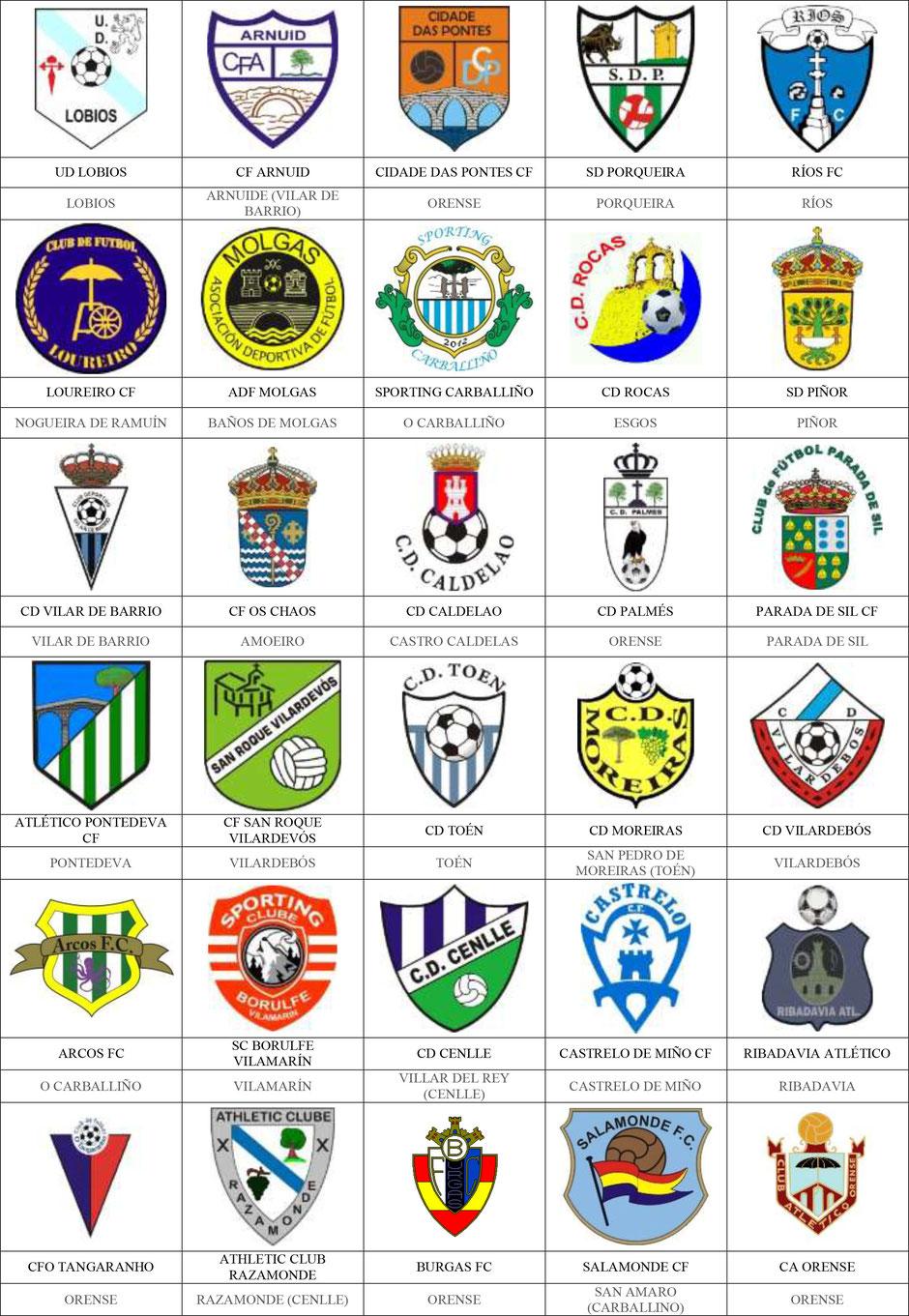 equipos futbol orense ourense