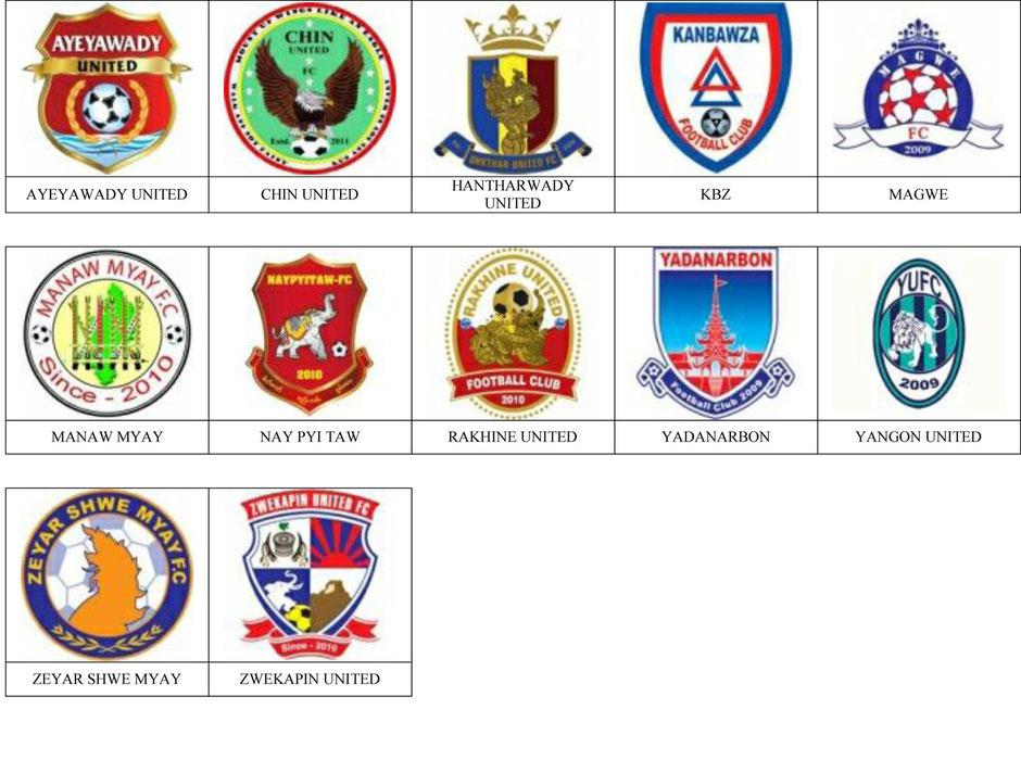 equipos futbol birmania