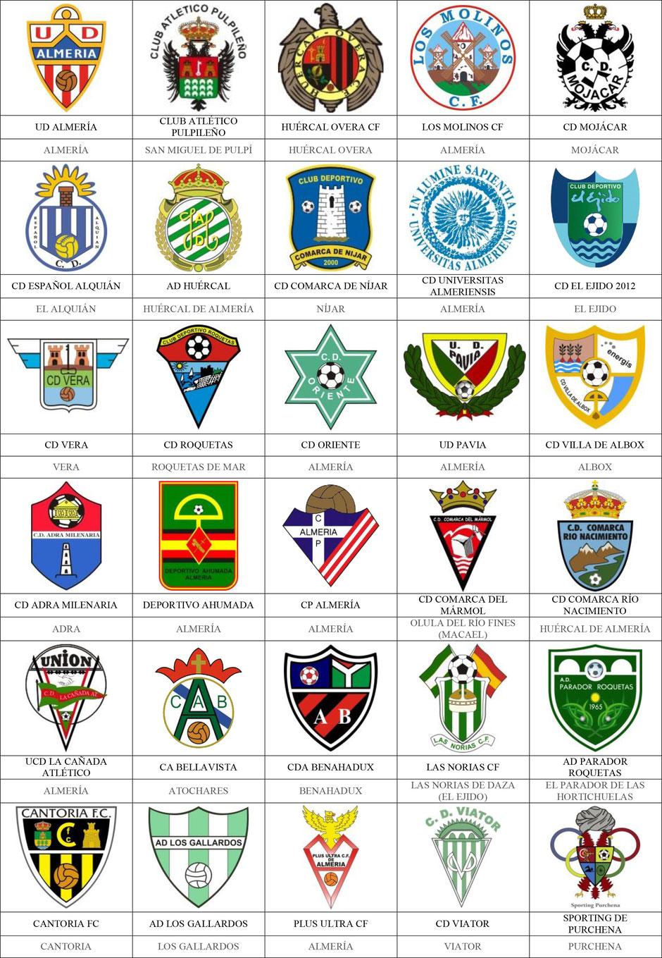 equipos futbol almería