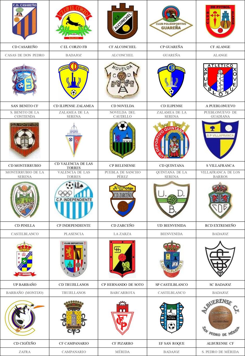equipos futbol badajoz