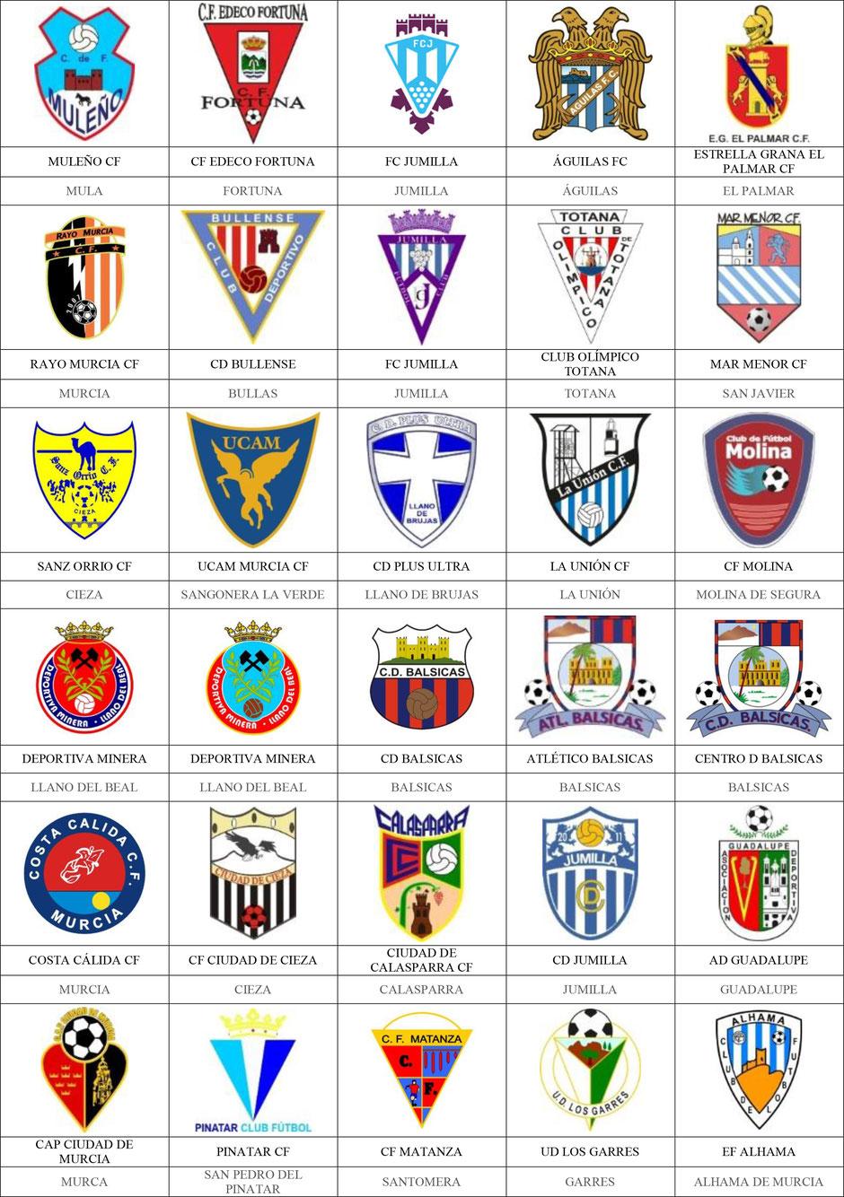 equipos futbol murcia
