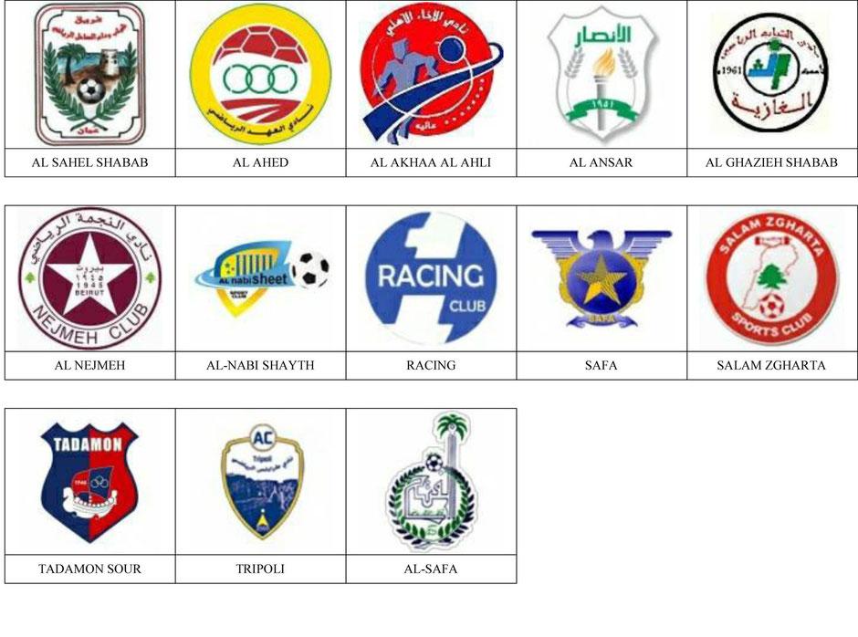 equipos futbol libano