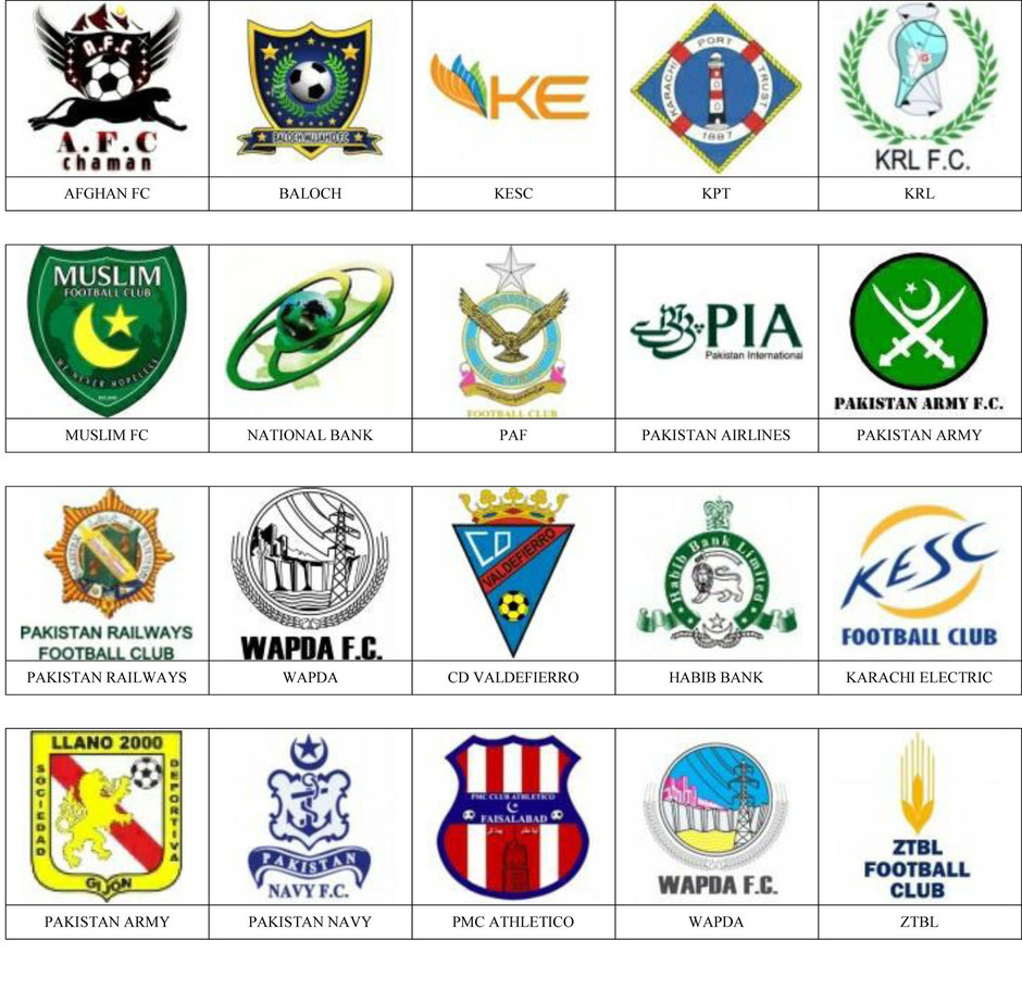equipos futbol pakistan