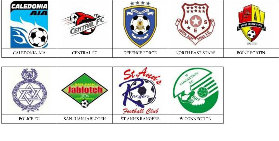 equipos futbol trinidad y tobago