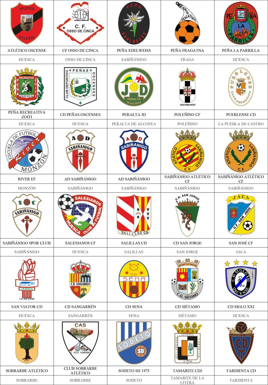 equipos futbol huesca