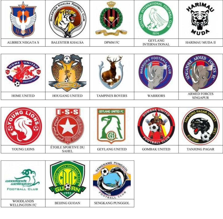 equipos futbol singapur