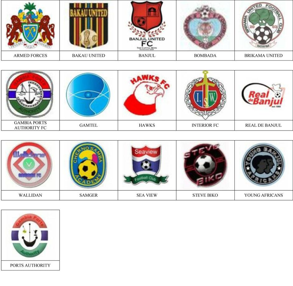 equipos futbol gambia