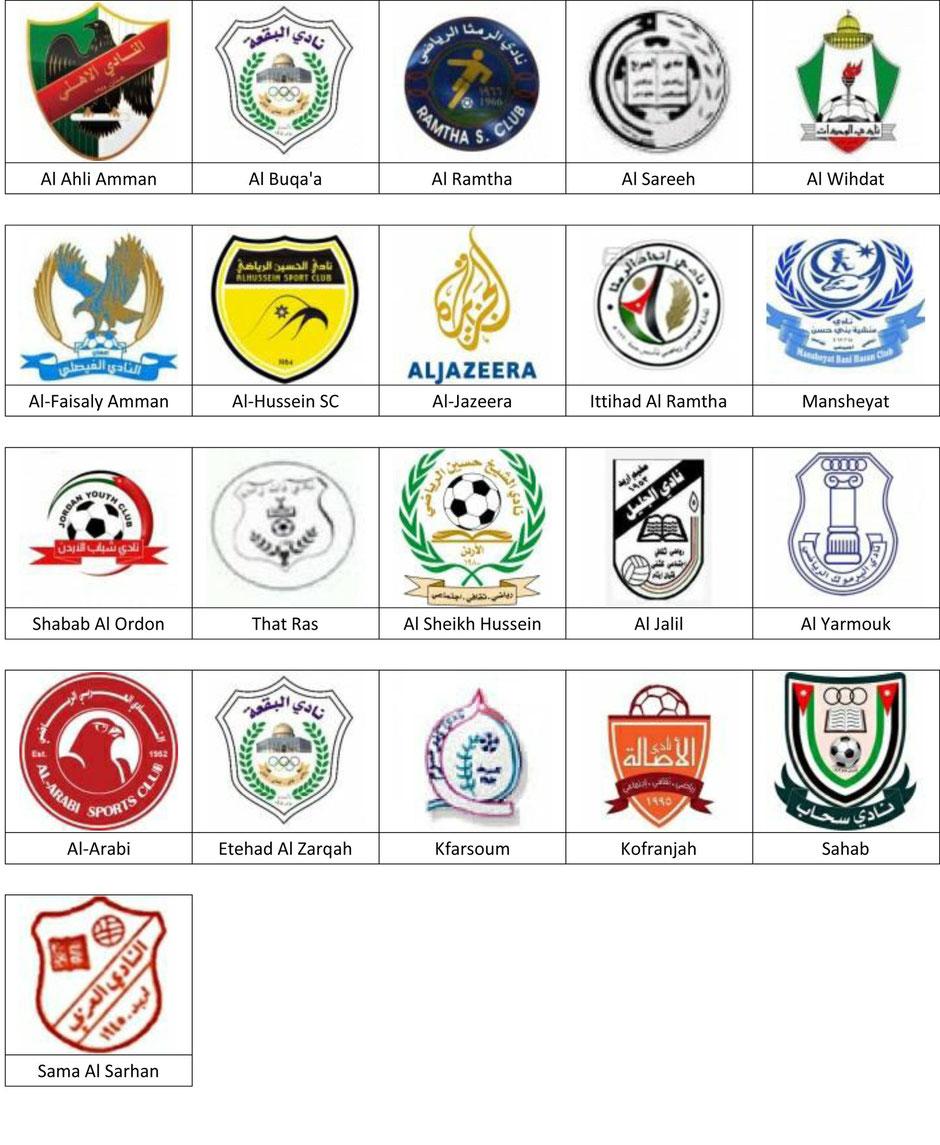 equipos futbol jordania