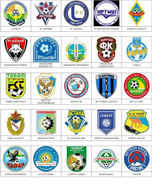 equipos futbol kazajistan