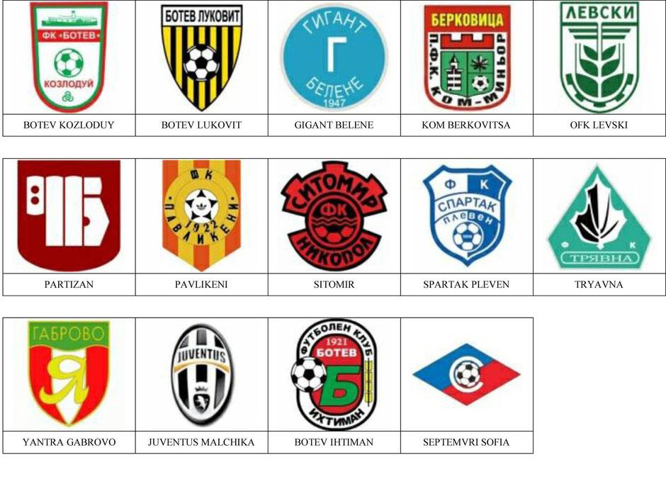 equipos futbol bulgaria