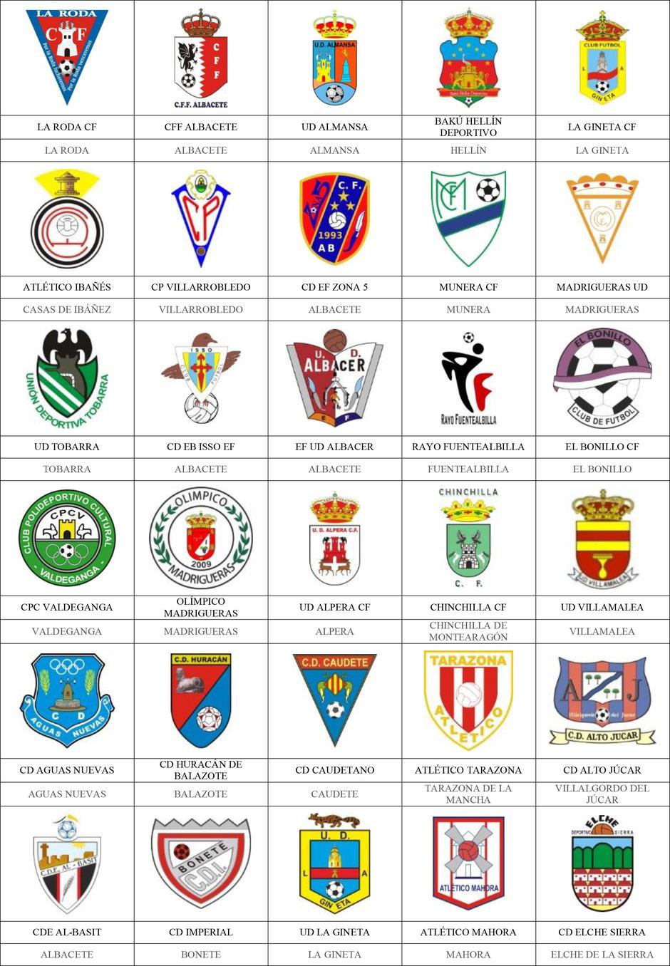 equipos futbol albacete