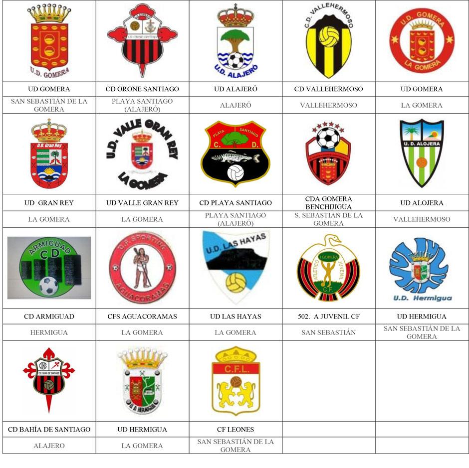 equipos futbol canarias gomera