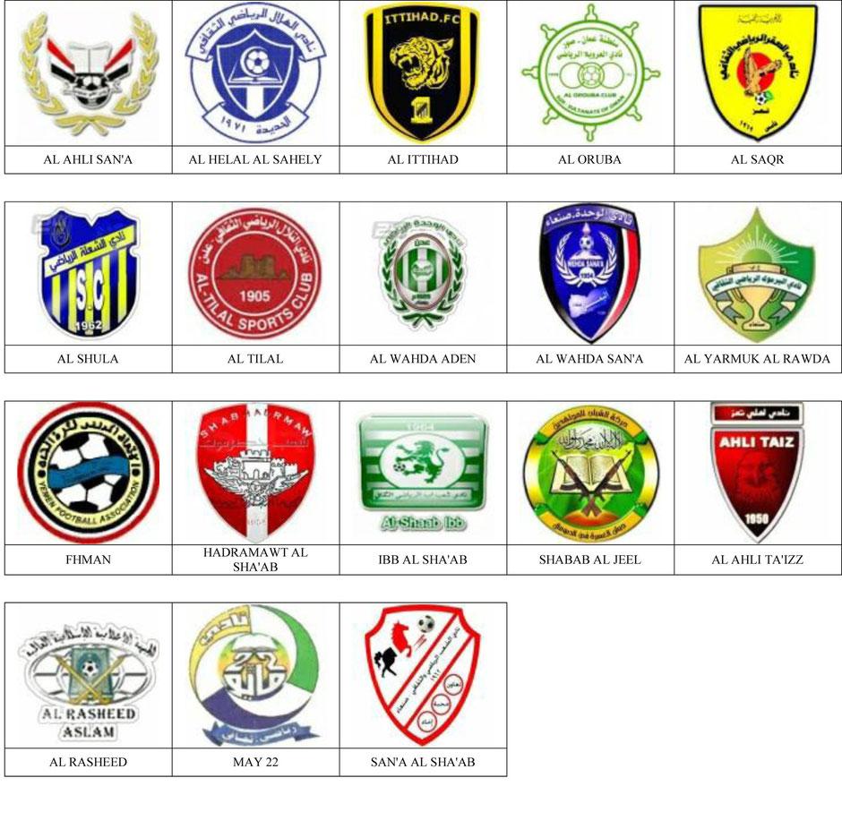equipos futbol yemen