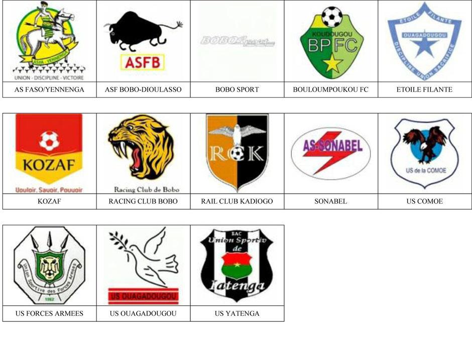 equipos futbol burkina faso