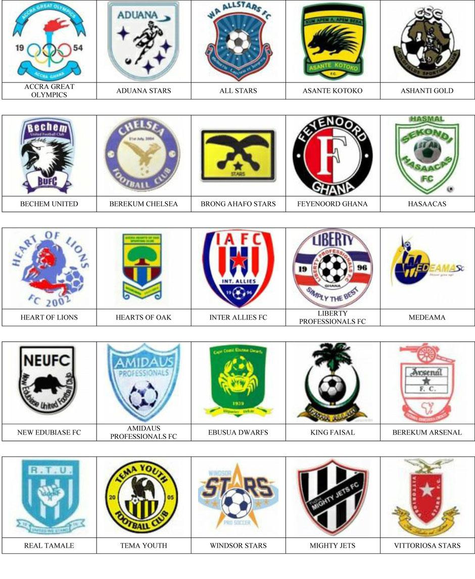 equipos futbol ghana