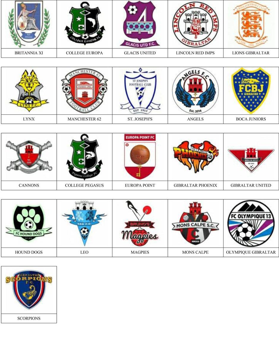 equipos futbol gibraltar