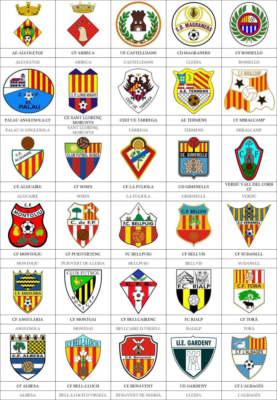 equipos futbol lérida lleida