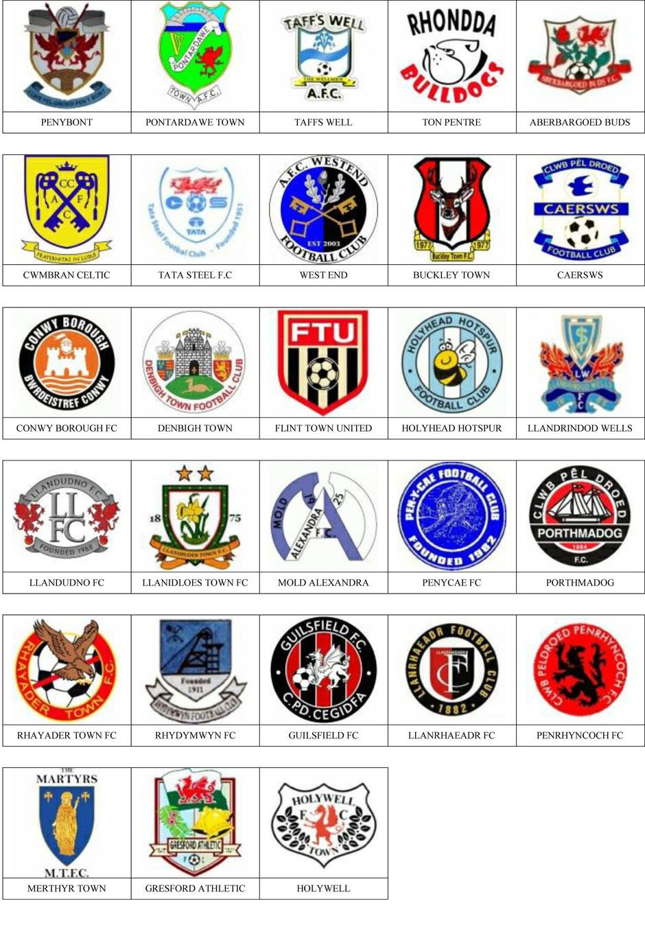 equipos futbol gales
