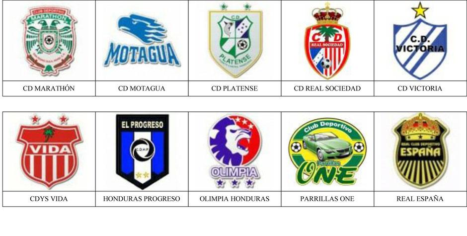 equipos futbol honduras