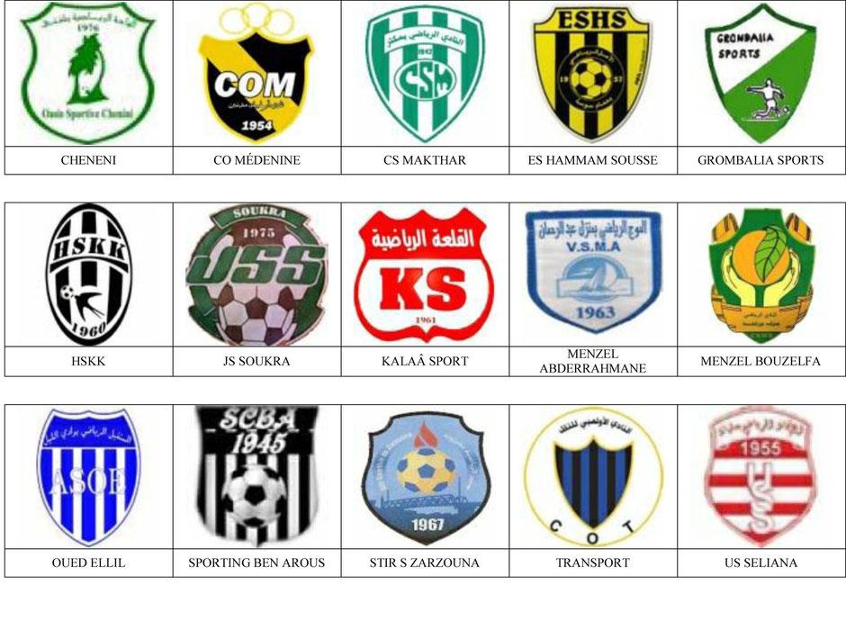 equipos futbol tunez