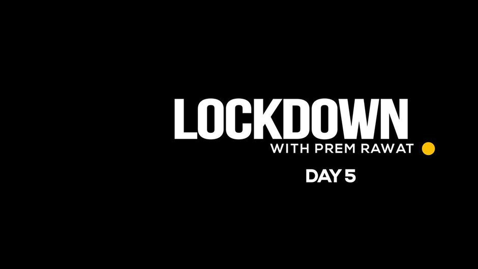Lockdown Day 5