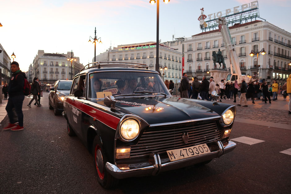vintage tour taxi 1500 madrid