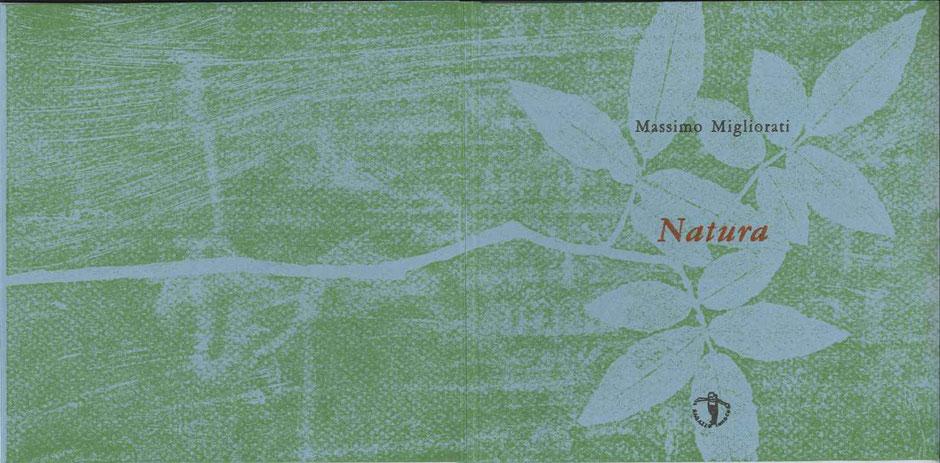 xilografia originale sulla doppia pagina di copertina