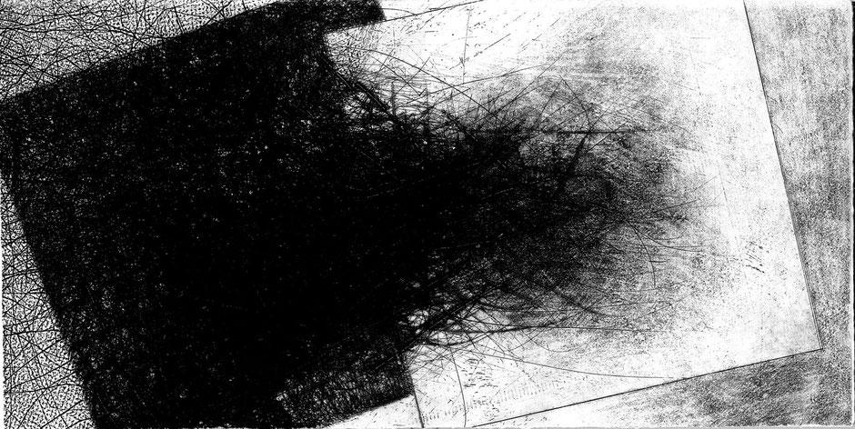 incisione originale a doppia pagina - lastra 310x160 mm