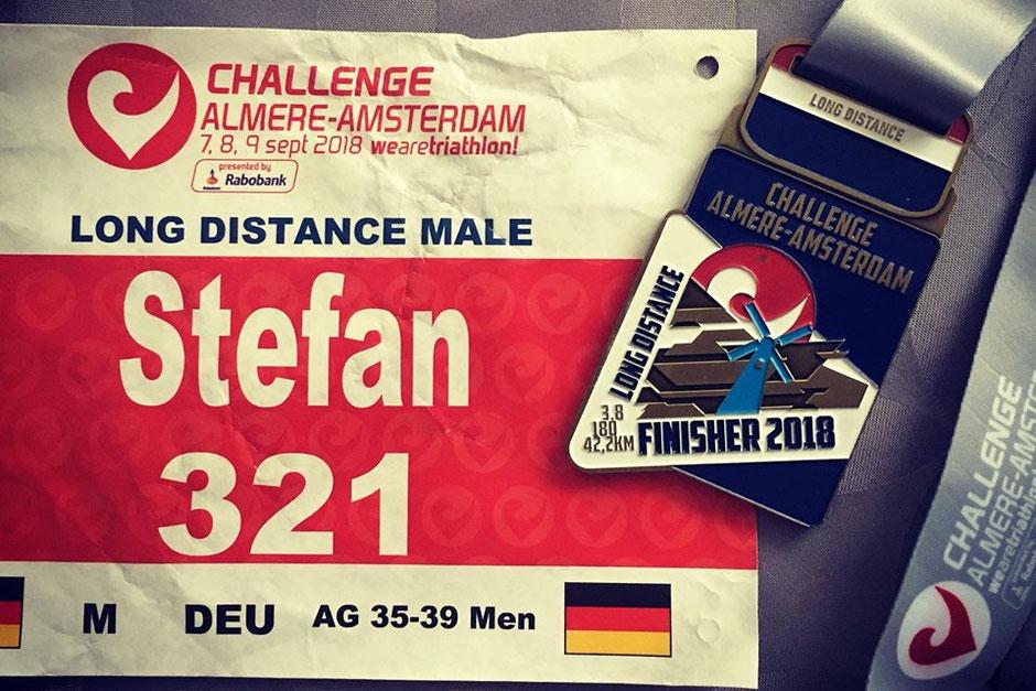 """Stefan Mauer: """"Aber am Ende stand eine neue persönliche Bestzeit über die Langdistanz zu Buche und ich bin doch zufrieden."""""""