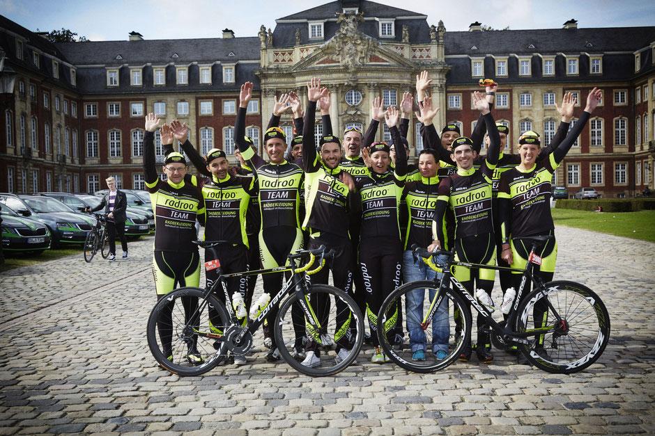 """Das Saisonfinale """"German Cycling Cup"""" in Münster gerockt- """"...eine tolle Saison & ein Mega Team ! """""""