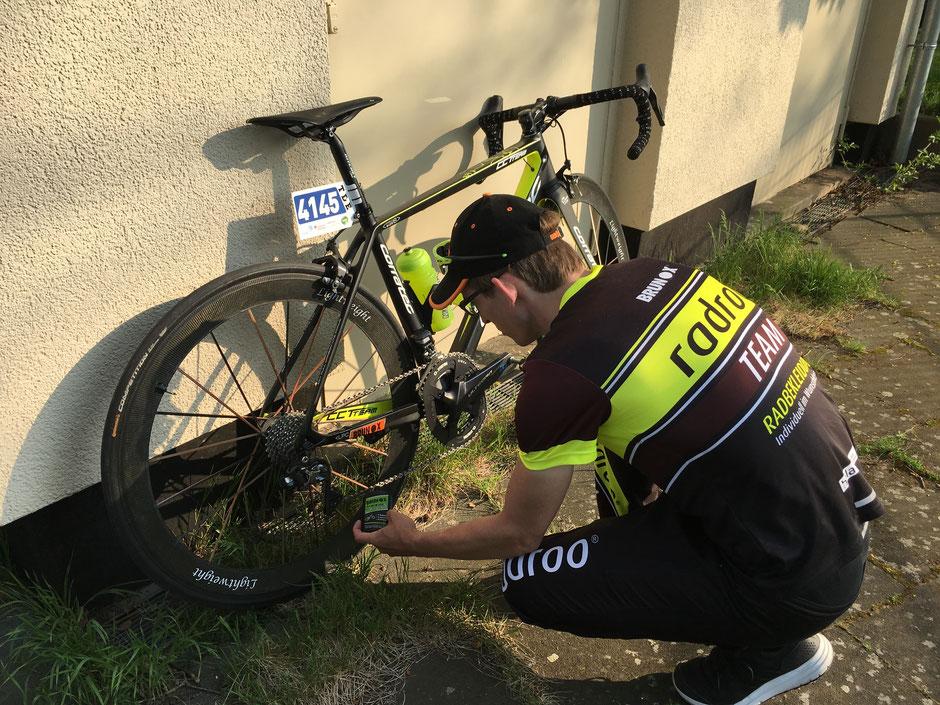 > Die perfekte Radpflege vor und nach dem Rennen mit BRUNOX® Produkten <