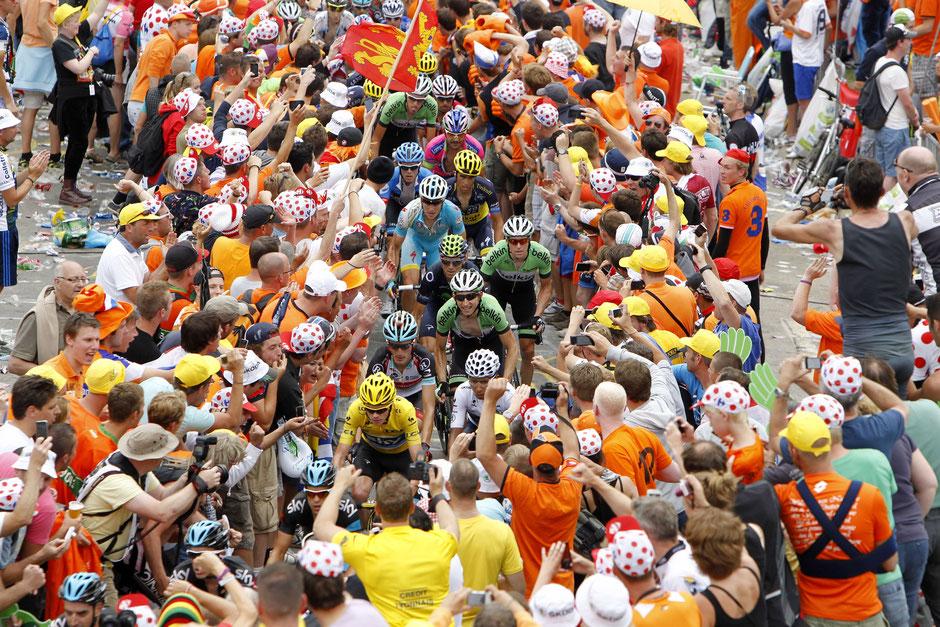 """Tour de France - 18. Etappe: Gap - """"Alpe d'Huez"""""""