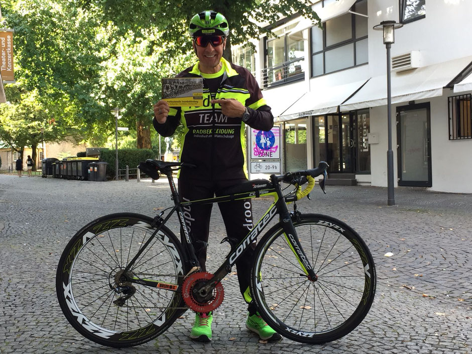 > Neu im radrooTEAM: Gastfahrer Alexander Schäfer aus Bielefeld <