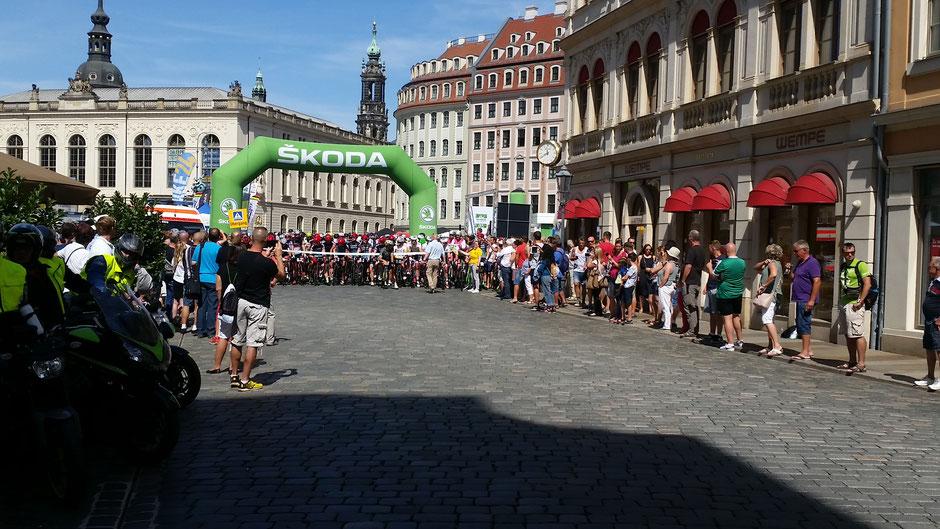 ŠKODA Velorace Dresden // TEAMWERTUNG Platz 6  (535 gewertete Fahrer)