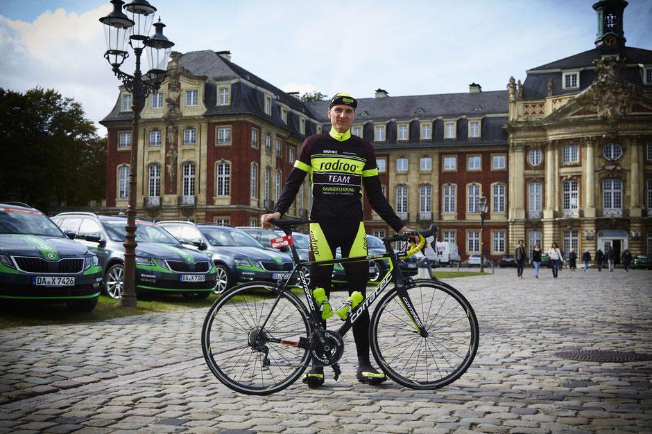 """Steffen Adamczyk: """" Zum ersten Mal in diesem Jahr, konnte ich die erste Gruppe halten."""""""