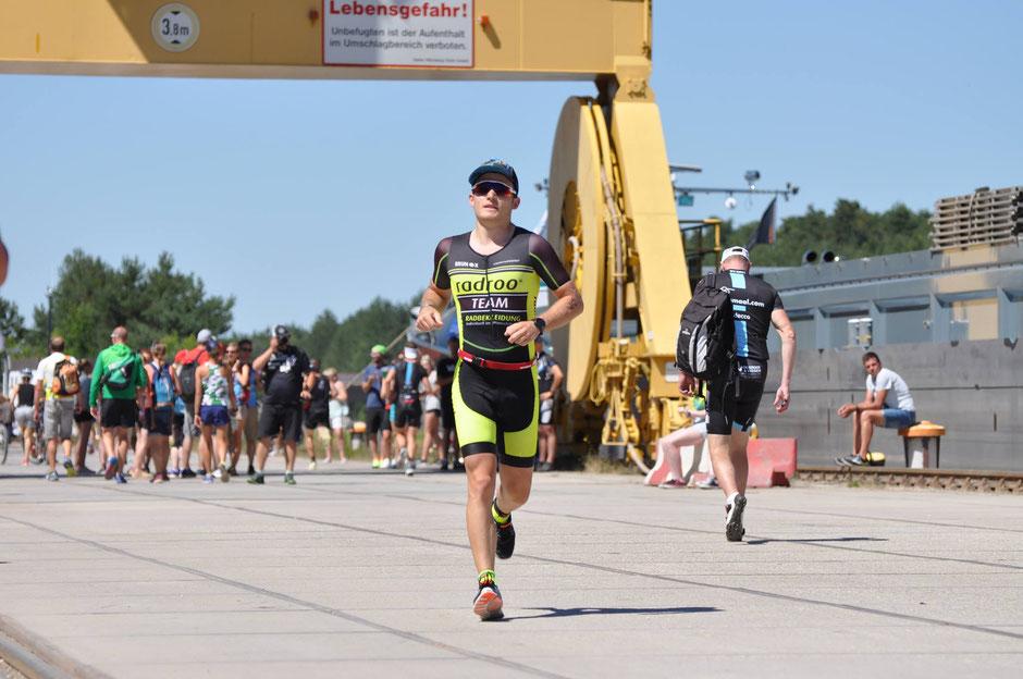 """Franz Bayer: """"Für viele bleibt das absolvieren von 3,8km Schwimmen, 180km Radfahren und 42km Laufen lange ein Traum."""""""