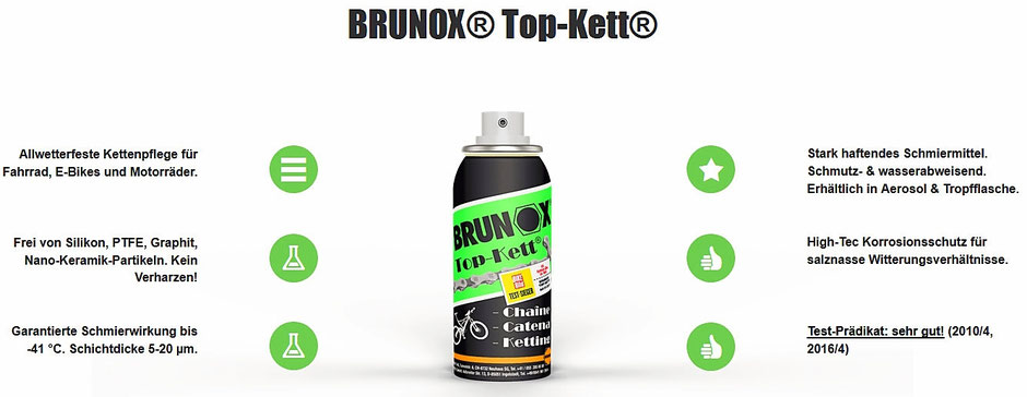 "BRUNOX® Top-Kett // Test-Prädikat ""sehr gut"""