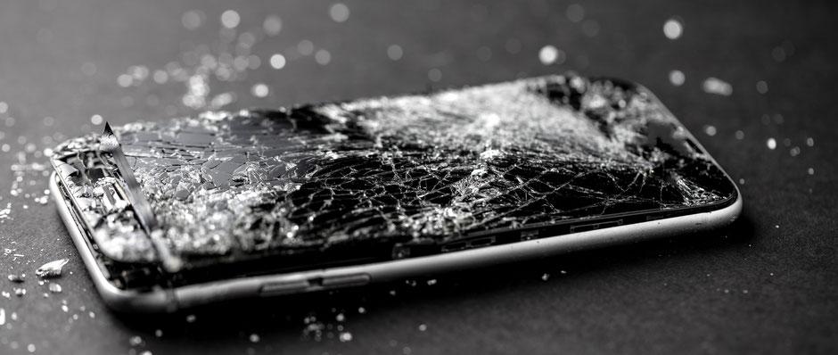 reparation iPhone ecran cassé chilly mazarin