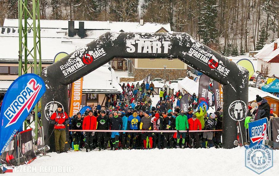 Spartan Race in Dolni Morava. Christian Kraus aus Zürich rennt in die Top 10. der Eliteracer.