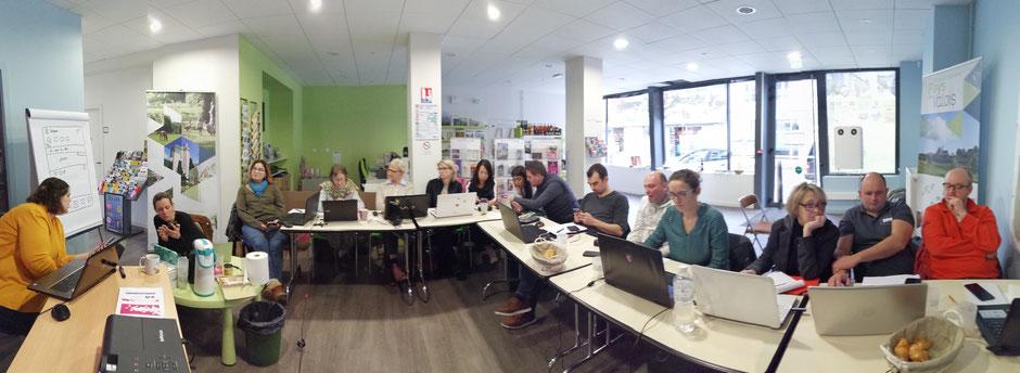 atelier numérique à l'Office de tourisme du Pays de Valois