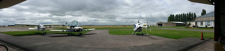 Avions de l'aérodrome du Plessis-Belleville
