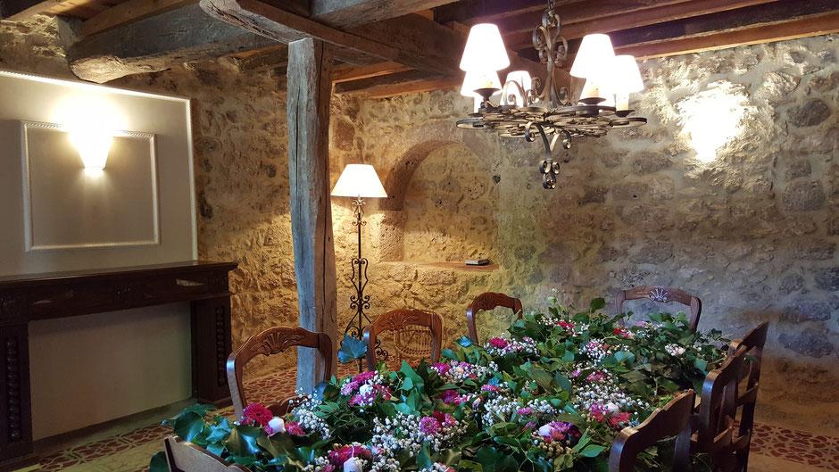 Hébergement installé dans l'ancien chai du Château La Hitte vin AOC Buzet